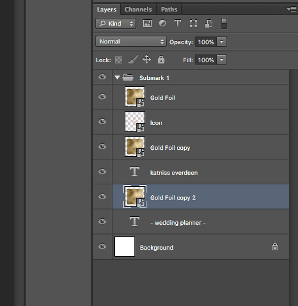 How To Add A Foil Effect In Photoshop