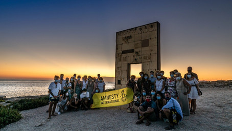 Joining a community of activists at Amnesty International