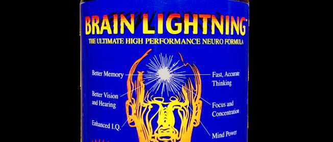 (1) Brain Lightning, 90 veg caps, 20th Anniversary