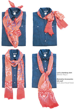 4 Ways to Style Your Scarf