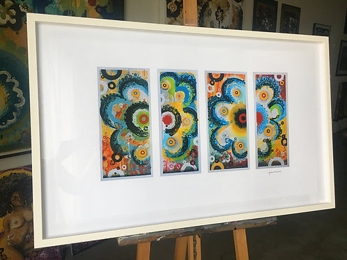 Box 2, Four Panel (framed)