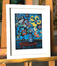 flowers 39-framed print-9x11.jpg
