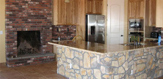 indoor stone veneers installation