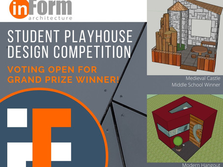 Vote for the Student Playhouse Design Grand Prize Winner!