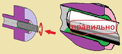клей-герметик/фиксатор вал-втулка