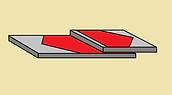 равномерное напряжение даёт клей-герметик