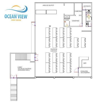 Plano Salon de Eventos RP EVENTS
