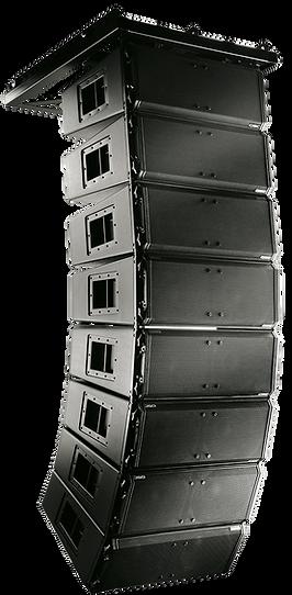 Sistema de Sonido Line Array