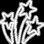 Icono de estrellas