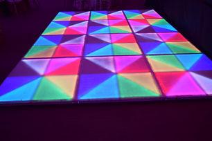 alquiler de pistas de baile LED en santo domingo