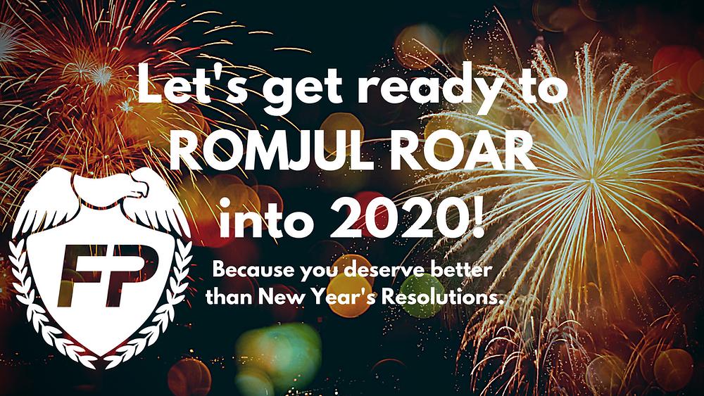 romjul, romjul roar, 2020, new year's resolutions