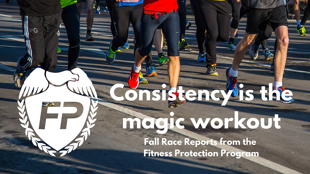 Consistency is the magic workout
