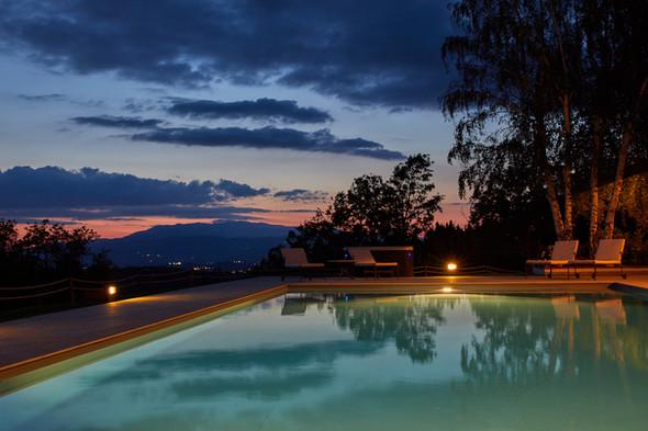 Piscine e tramonti