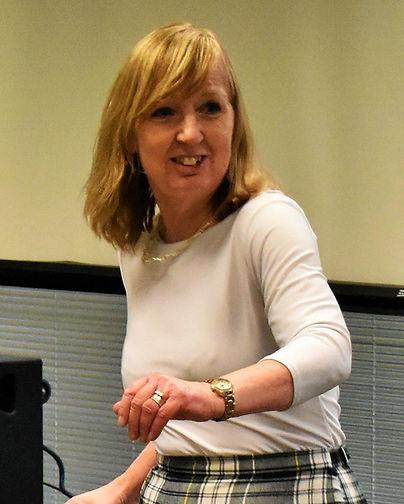 Founder and Leader Diana Peers in full flow