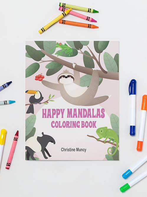 Coloring Book Rainforest
