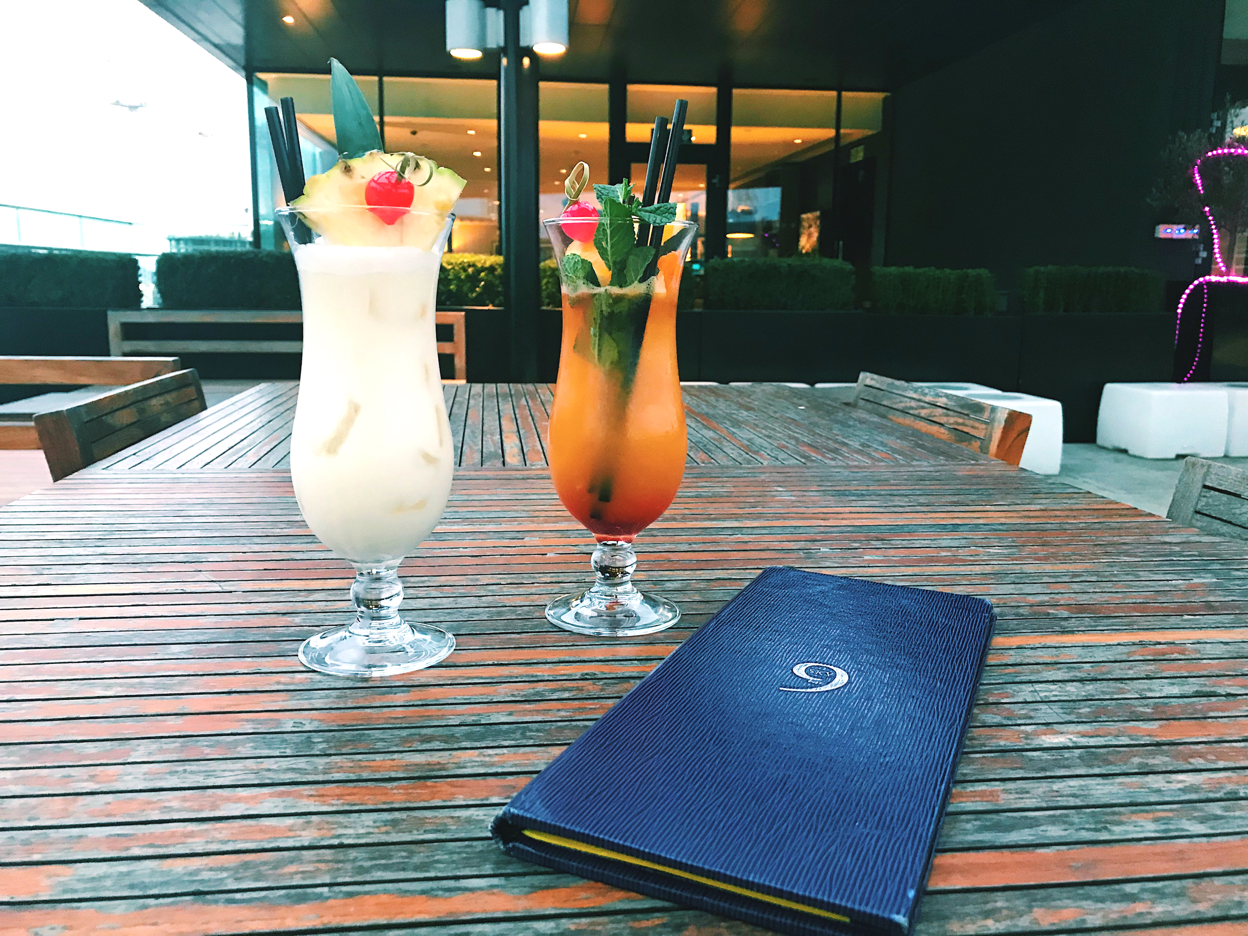 Pina Colada and Sex On The Beach