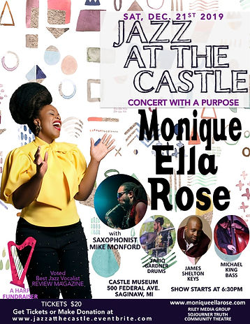 Monique Ella Rose - Jazz at the Castle 2