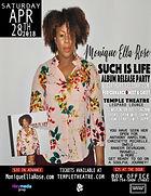 Monique Ella Rose Such Is Life Flyer -01