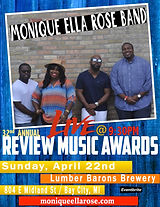 Monique Ella Rose Performs Live Review Awards 2018