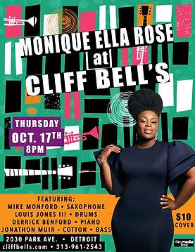 MONIQUE ELLA ROSE Live CLIFF BELLS at