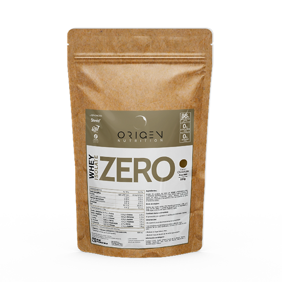 WHEY ISOLATE ZERO - ORIGEN NUTRITION 500gr