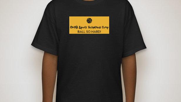 "OMG Sports ""Ball So Hard!"" Camp Tee"