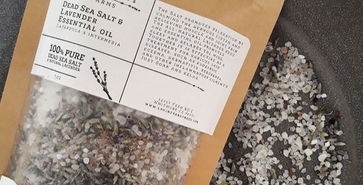 Bath Salt & Lavender 7oz