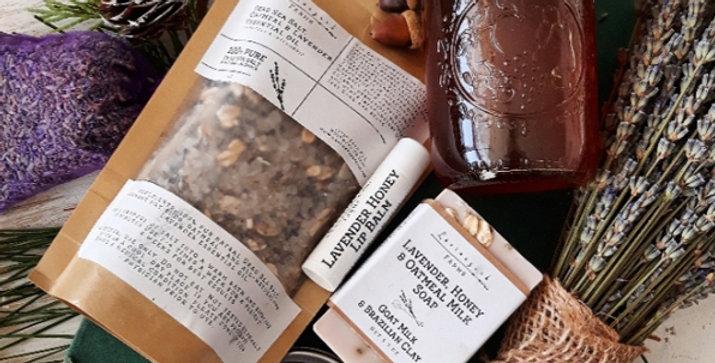 Lavender & Honey Gift Package