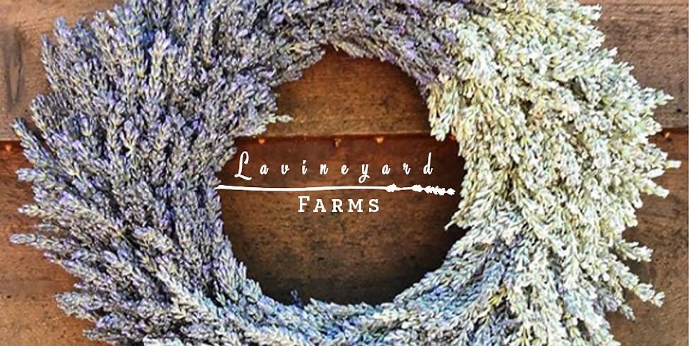 Lavender Wreaths Workshop! July 22nd - Palo Cedro