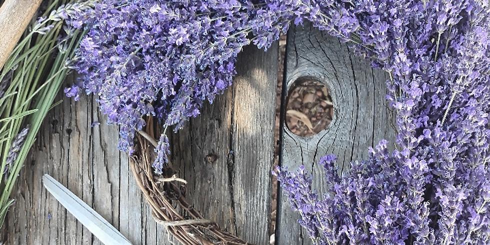 Lavender Wreaths Workshop! July 15th - Palo Cedro