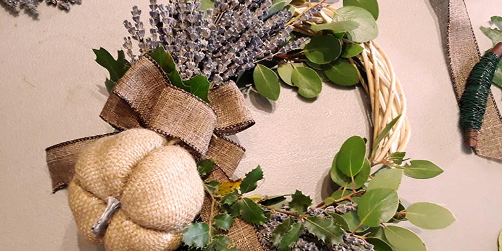 Lavender Wreaths Workshop For Fall-Palo Cedro Farmers Market