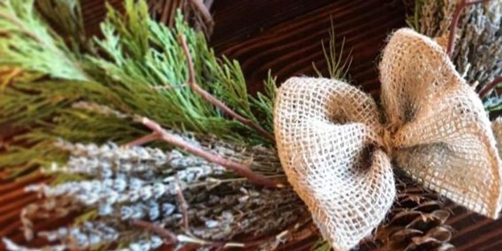 Lavender Wreaths Workshop! Nov 16th!