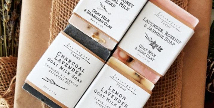 LavenderGoat Milk Soaps Gift Package