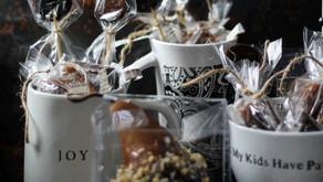 3 Shades of Honey   Romantic Giftable's   Butterscotch Basked Boscs   Lavender Honey Fleur de Sel Ca
