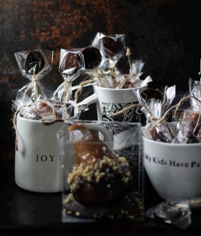 3 Shades of Honey | Romantic Giftable's | Butterscotch Basked Boscs | Lavender Honey Fleur de Sel Ca