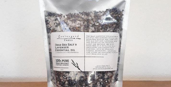 Dead Sea Salt & Lavender- Bath Salt 9oz