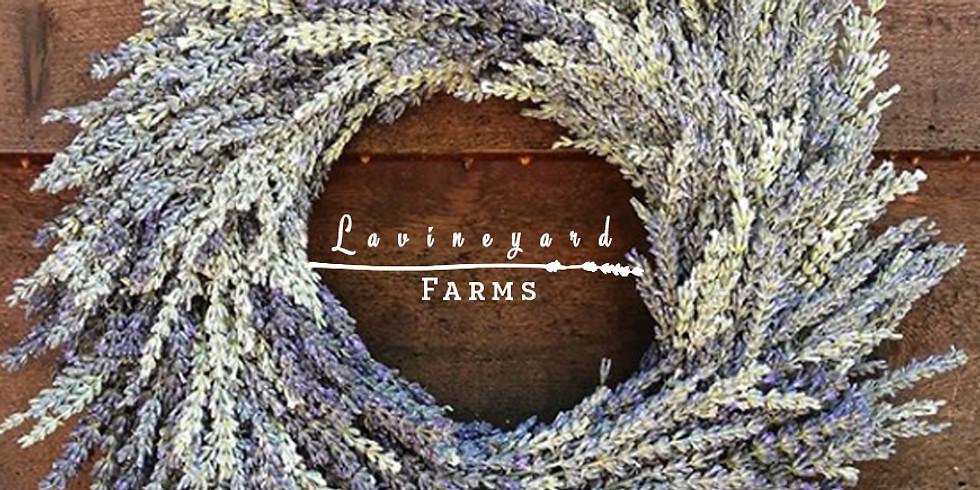 Lavender Wreaths Workshop! July 14th - Weaverville