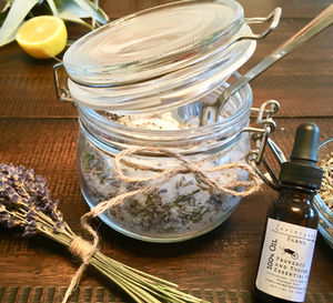 Diy Lavender Fresh Lemon Foot Soak Recipe For Stress
