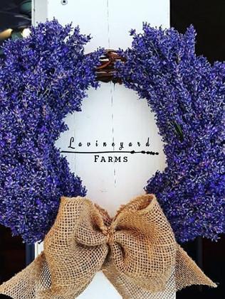 Fresh Lavender Antlers Wreath 1.jpg