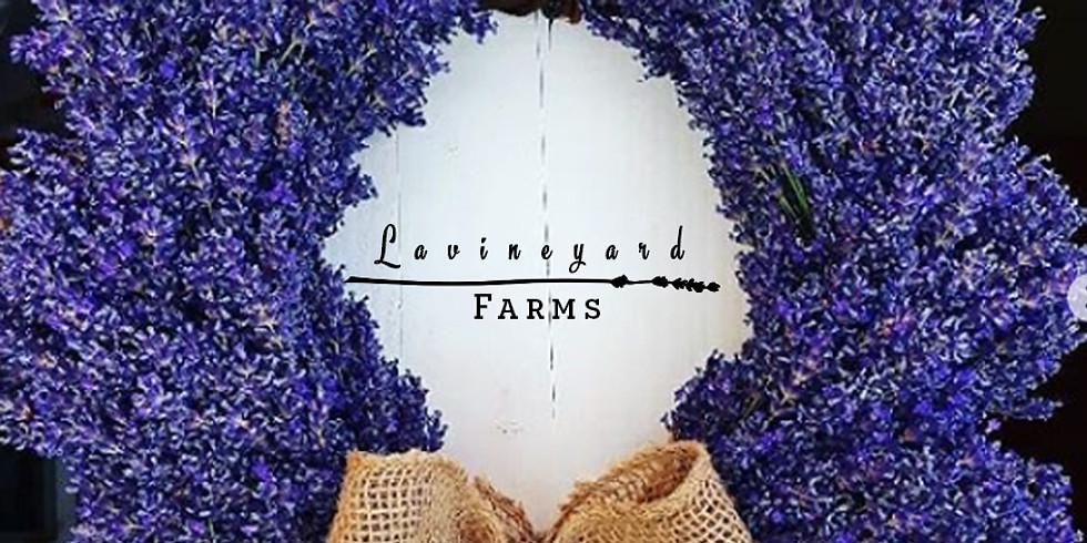 Lavender Wreaths Workshop! July 17th - Redding, Sizzle's Kitchen