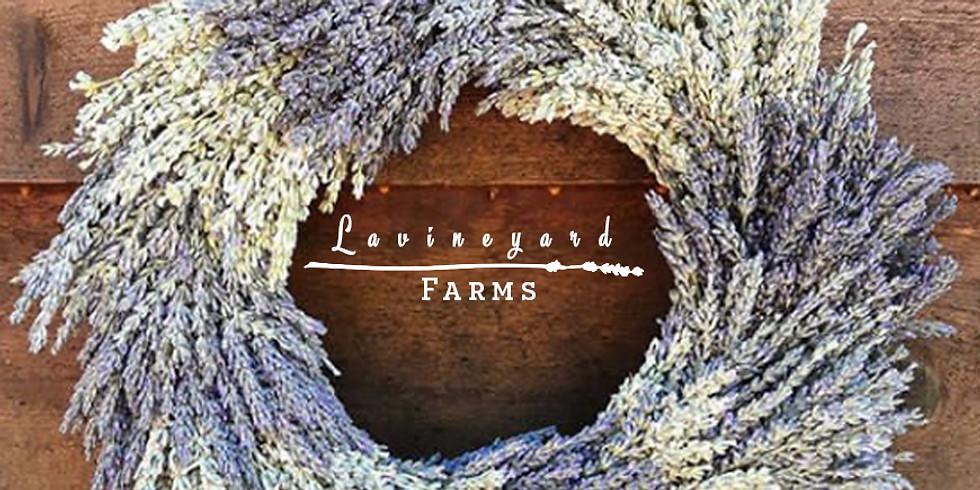 Lavender Wreaths Workshop! July 21st - Weaverville