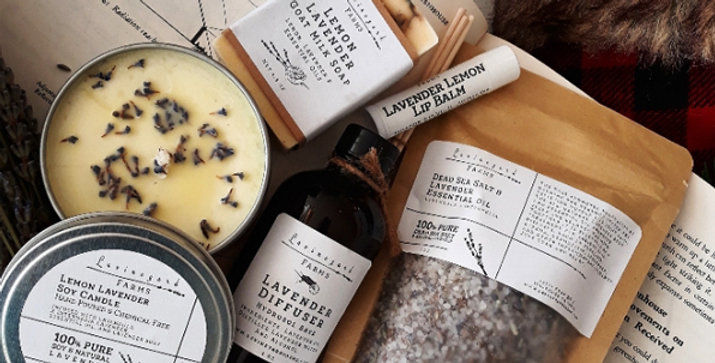 Lavender Medley Gift Package (C)