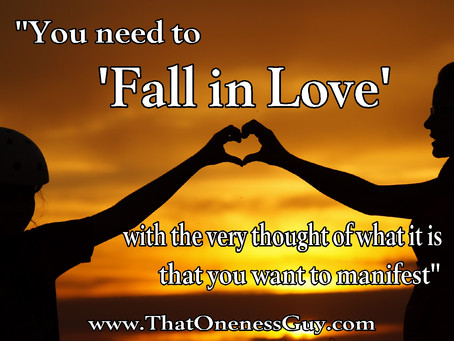 Let's 'FALL IN LOVE' (with what we want)