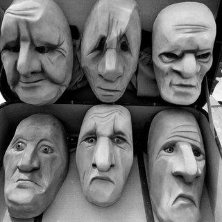 Leather Full Masks
