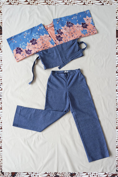 GUAVE SUIT DENIM BLUE S