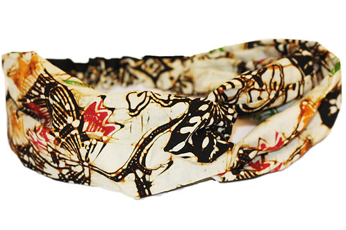 Haarband batik cap