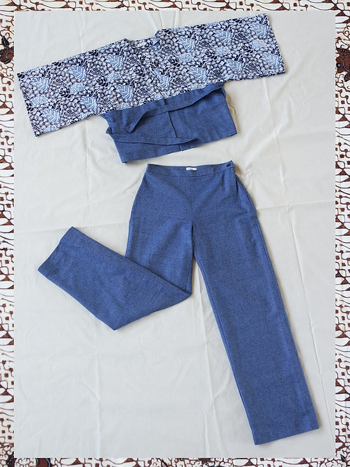 GUAVE SUIT DENIM BLUE M