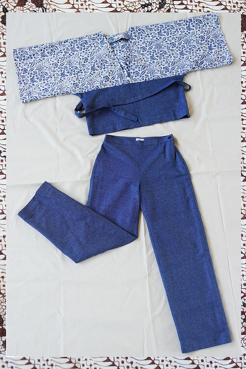GUAVE SUIT DENIM BLUE L