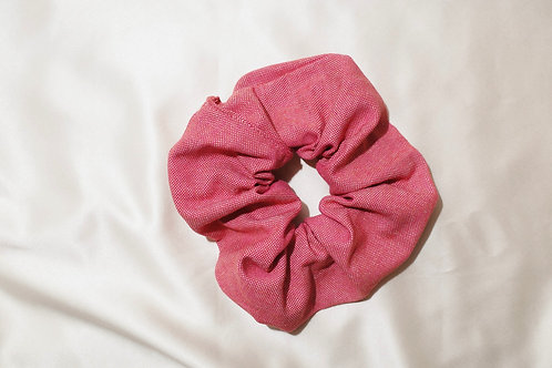 Scrunchie recycled fabric {gemêleerd}