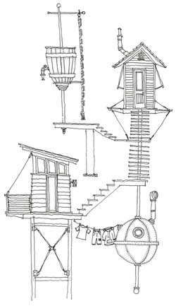 Steampunk Treehouse